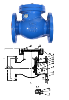 Resilient Seal Swing Check Valve Design